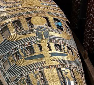 skarabé, detalj från sarkofag